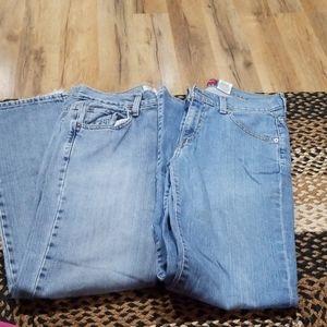 Levis women's jeans sz 8 misses